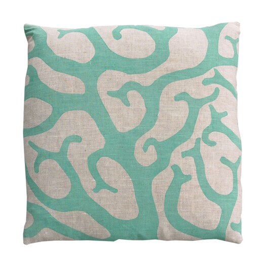 Dermond Peterson Coral Pillow
