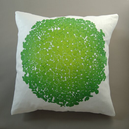 Dermond Peterson Hydrangea Pillow