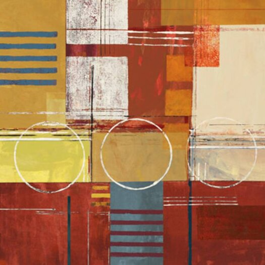 "Amanti Art 'Rustic Lime' by Olga ""De Jesus"" Chuqui Graphic Art on Canvas"