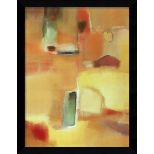 Amanti Art 'In a Mellow Mood' by Nancy Ortenstone Framed Graphic Art