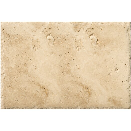 """Emser Tile Natural Stone 8"""" x 16"""" Chiseled Travertine Field Tile in Umbia Savera"""