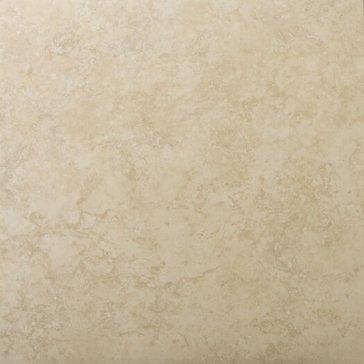 "Emser Tile Odyssey 13"" x 13"" Glazed Ceramic Floor Tile in Beige"