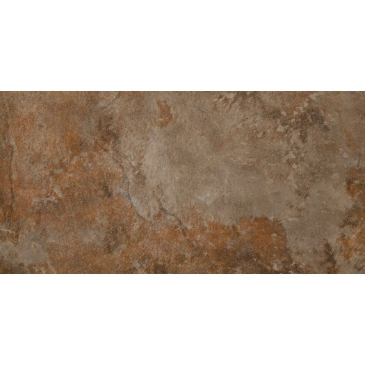 "Emser Tile Bombay 12"" x 24"" Glazed Porcelain Tile in Salsette"
