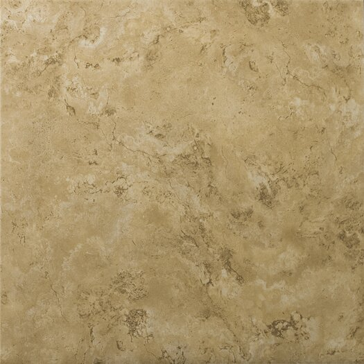 "Emser Tile Cordova 17"" x 17"" Glazed Ceramic Tile in Noce"