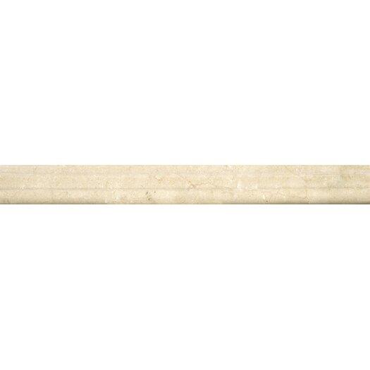 """Emser Tile Crema Marfil 1"""" x 12"""" Polished Marble OG Tile"""