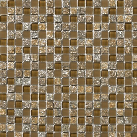 Emser Tile Lucente Stone and Glass Mosaic Blend in Venezia