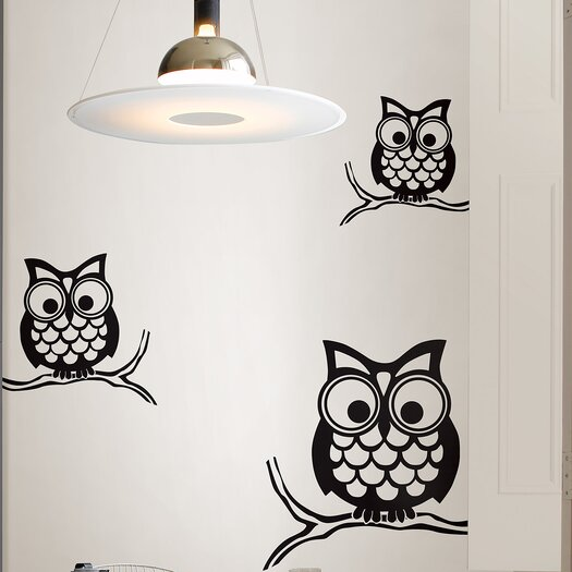 WallPops! Art Kit Give a Hoot Small Wall Decal