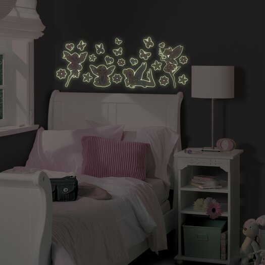 WallPops! Fairies Glow in the Dark Wall Decal Kit