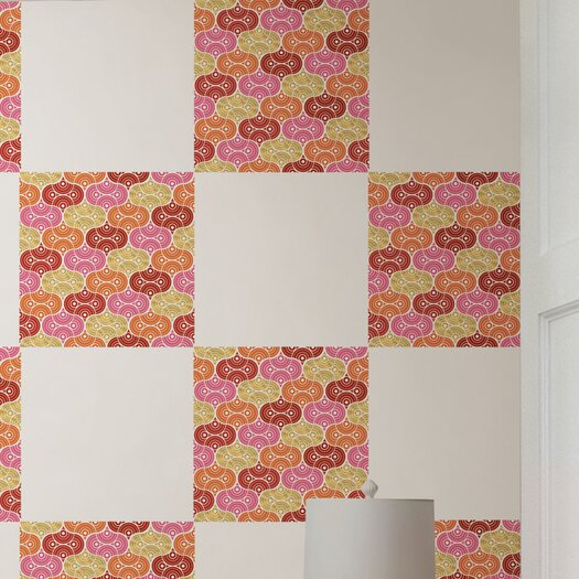 WallPops! Jonathan Adler Geo Circles Blox Wall Decal