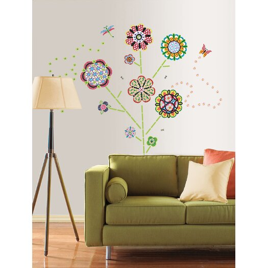 WallPops! Sheets Flower Power Wall Decal