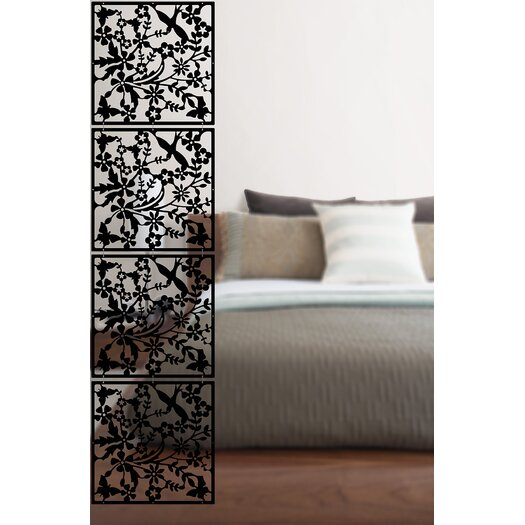"WallPops! 14.75"" x 14.75"" Sheets Sanctuary Room Divider"
