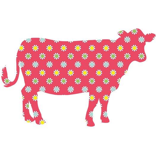 WallPops! ZooWallogy Dakota The Cow Wall Decal