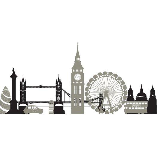 WallPops! London Calling Small Wall Decalt Kit