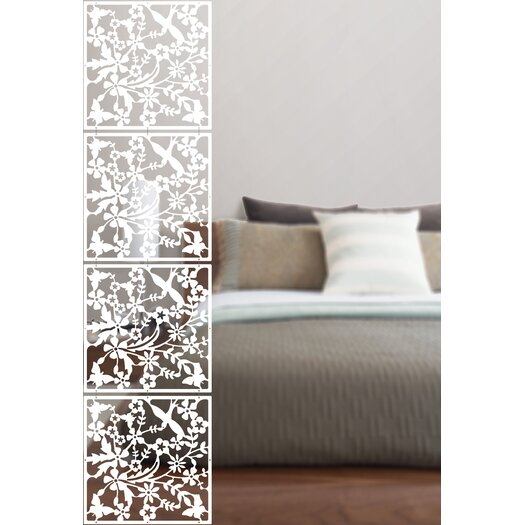 "WallPops! 14.75"" x 14.75"" Sanctuary Room Divider"