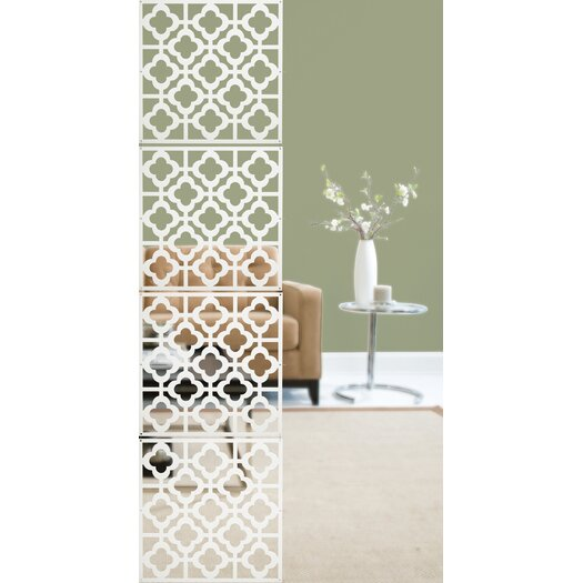 "WallPops! 14.75"" x 14.75"" Honeycomb Room Divider"