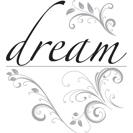 WallPops! Art Kit Dream Phrases Wall Decal