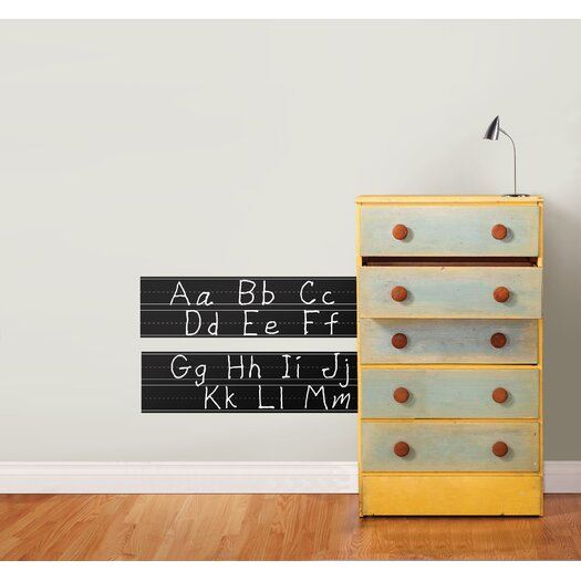 WallPops! Dry Erase Learn To Write Chalkboard Wall Decal