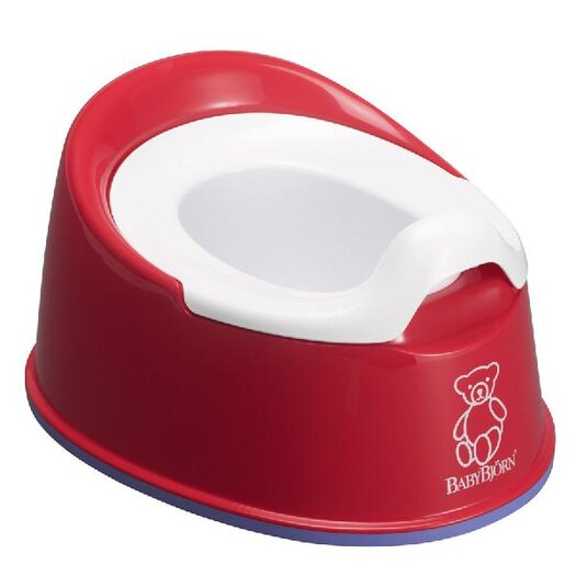 BabyBjorn Smart Potty in Red