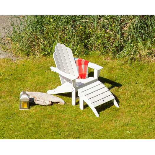 POLYWOOD® Long Island 2 Piece Adirondack Set