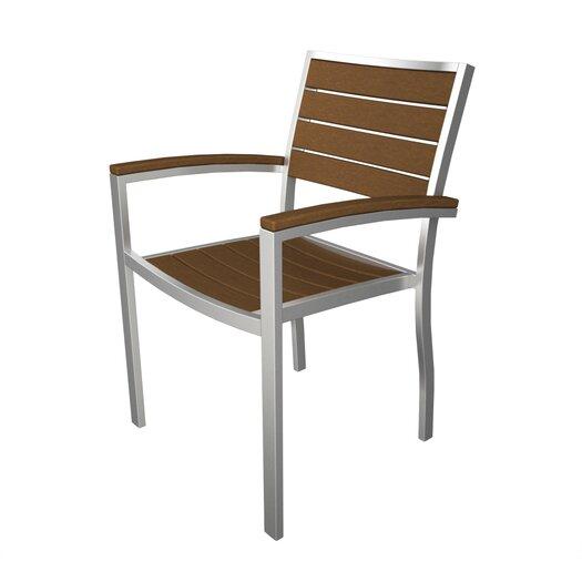 POLYWOOD® Euro Arm Lounge Chair
