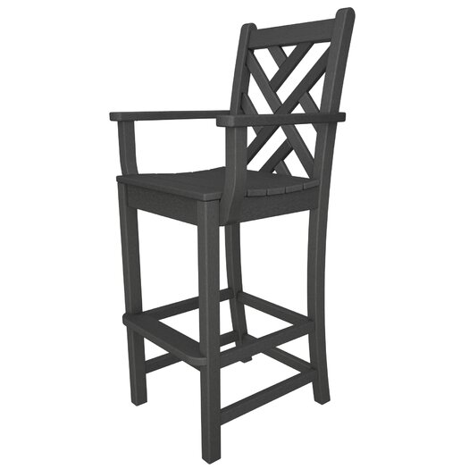 """POLYWOOD® Chippendale 30"""" Barstool"""