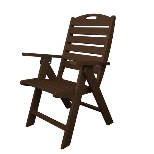POLYWOOD® Nautical Beach Chair