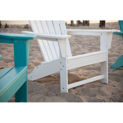 POLYWOOD® South Beach 4 Piece Adirondack Set