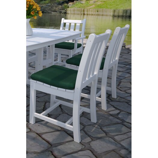 POLYWOOD® Traditional Garden Dining Side Chair