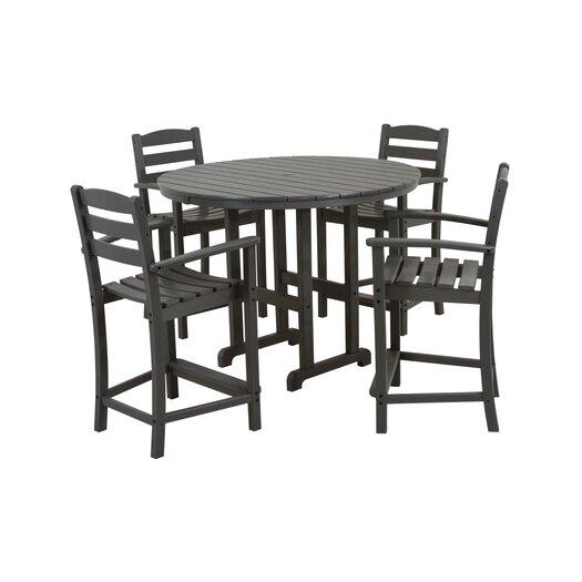 POLYWOOD® La Casa Cafe 5 Piece Counter Set