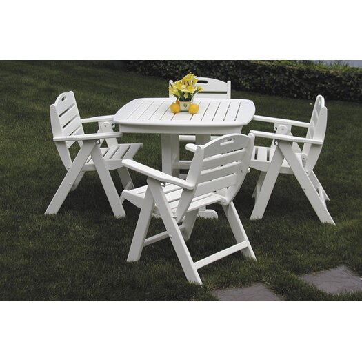 POLYWOOD® Nautical Square Dining Table