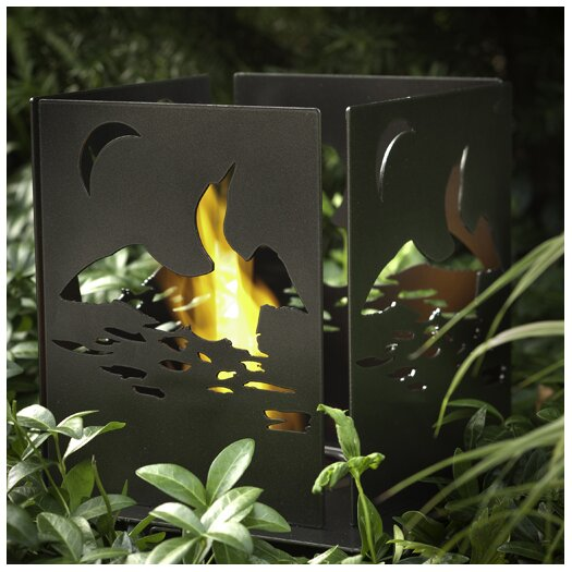 Decorpro Four Series Cottage Steel Bio Ethanol Table Top Fireplace