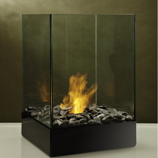 Decorpro Cell Series Micro Steel Bio Ethanol Table Top Fireplace