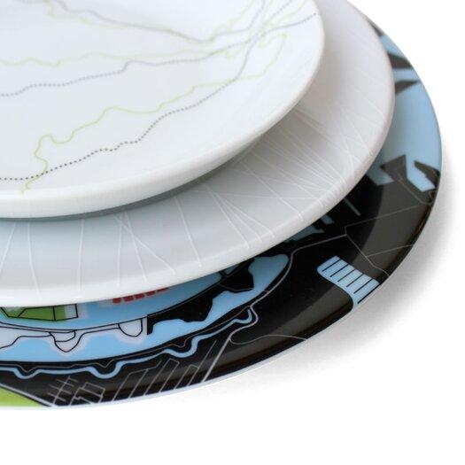 """notNeutral 10.5"""" Sky Dinner Plate"""