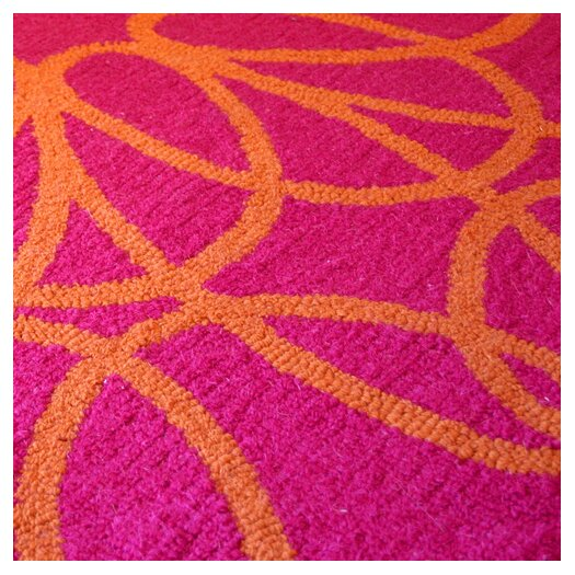 notNeutral Ribbon Orange/Pink Area Rug