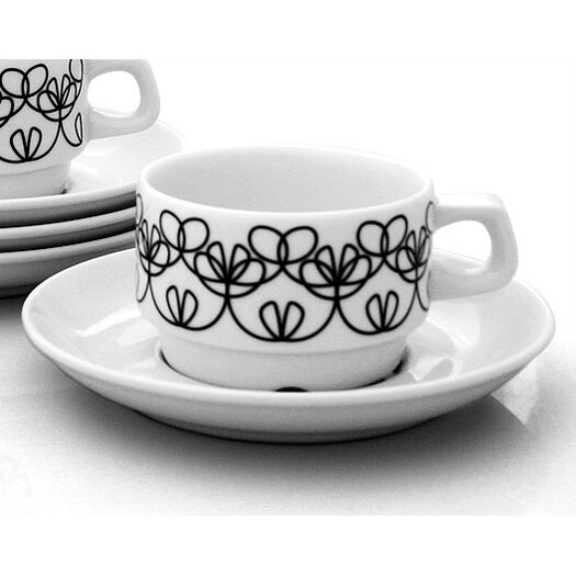 notNeutral Ribbon Cups With Saucer