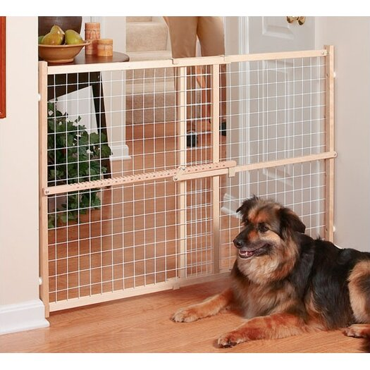 "Evenflo Safety 50"" Wire & Mesh Position & Lock Plus Gate"