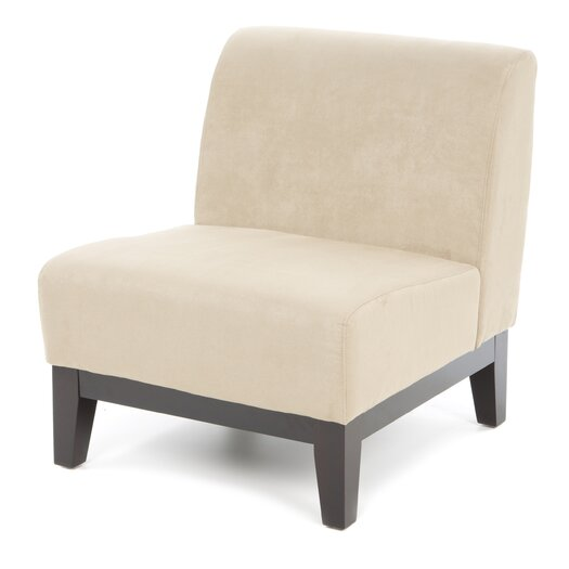 Ave Six Glen Fabric Slipper Chair