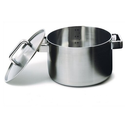 Tools Stainless Steel Round Casserole