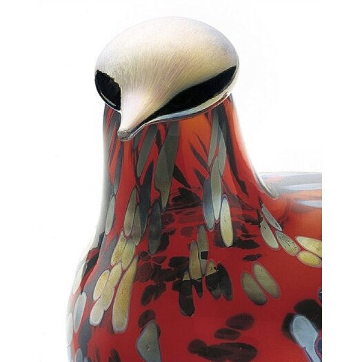 iittala Birds by Toikka Ruby Bird Figurine