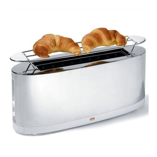 Alessi Stefano Giovannoni Toaster with Bun Warmer