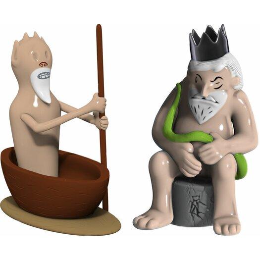 Alessi Caronte E Minosse Figurines