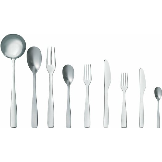 Alessi Knifeforkspoon by Jasper Morrison 75 Piece Flatware Set