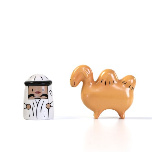 Alessi Amir and Camelus Figurines