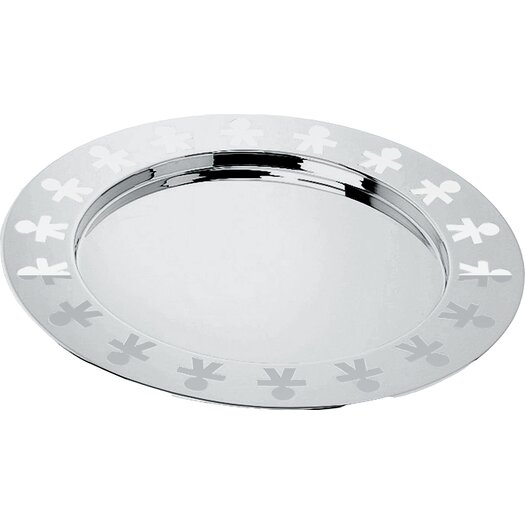 Alessi Girotondo by King Kong Miniature Round Serving Tray