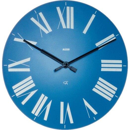 "Alessi 14.17"" Firenze Wall Clock"