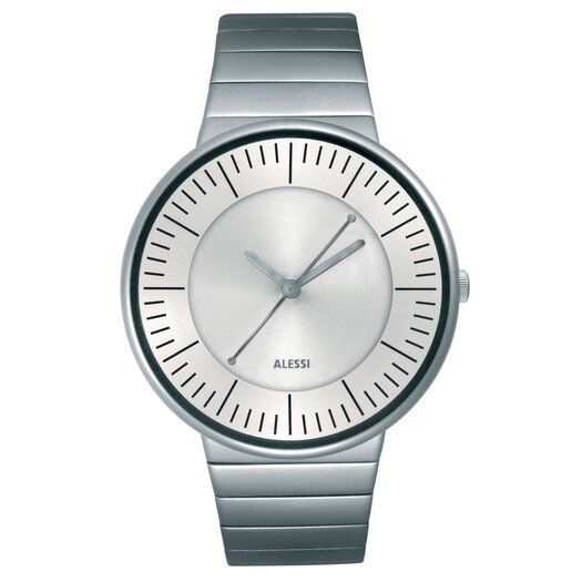 Alessi Luna Stainless Steel Watch