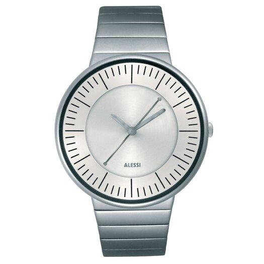 Alessi Luna Stainless Steel Watch