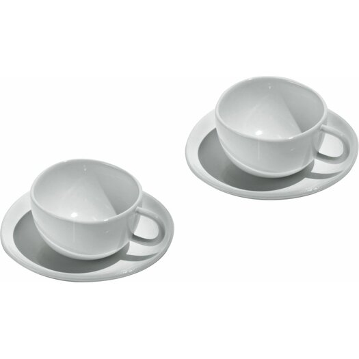 Alessi Fruit Basket Mocha Cup and Saucer