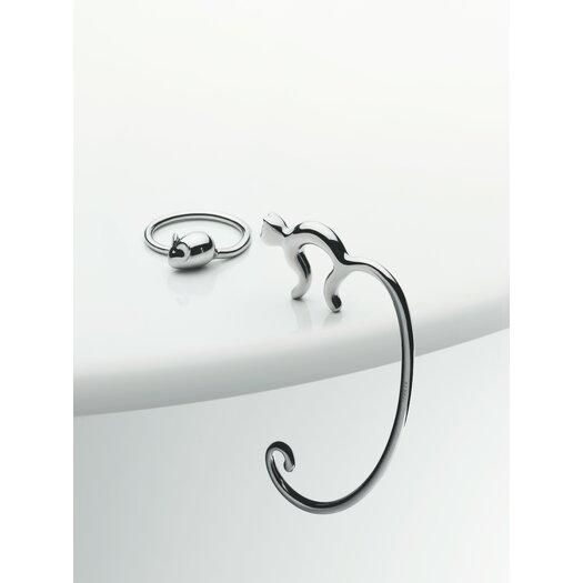 Alessi Pip Key Ring