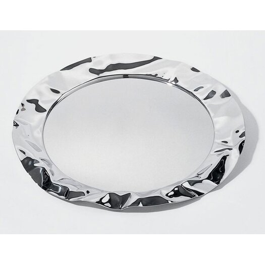 Alessi Lluis Clotet - Wrinkled Inspirations Foix Round Serving Tray